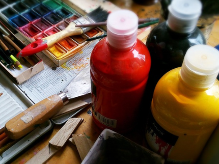 Water colour paints