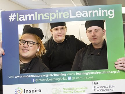 Inspire Learning - hospitality & catering students