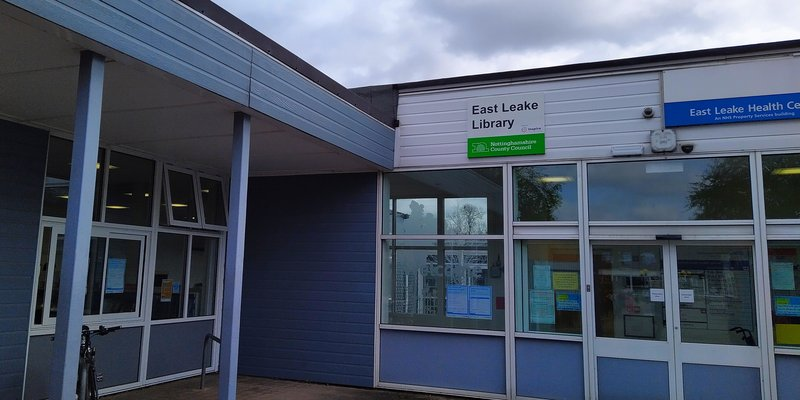 East Leake Library Front