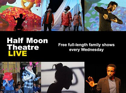 Half Moon Live. Virtual World Use only