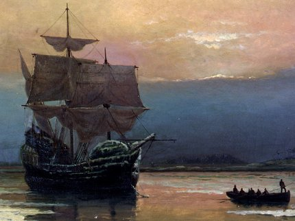 Mayflower_in_Plymouth_Harbor,_by_William_Halsall (2).jpg