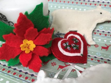 christmas felting
