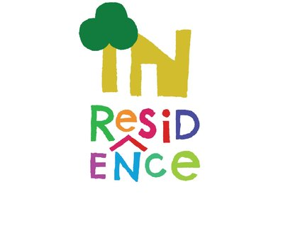 In Residence logo square small