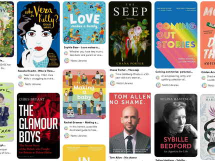 LGBTQ+ book list