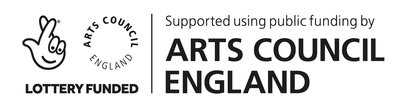 Funded by the Arts Council through the National Lottry