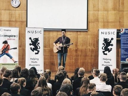 NUSIC schools tour
