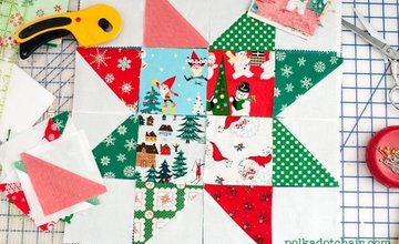 Community Learning Sewing Christmas Crafts Beeston